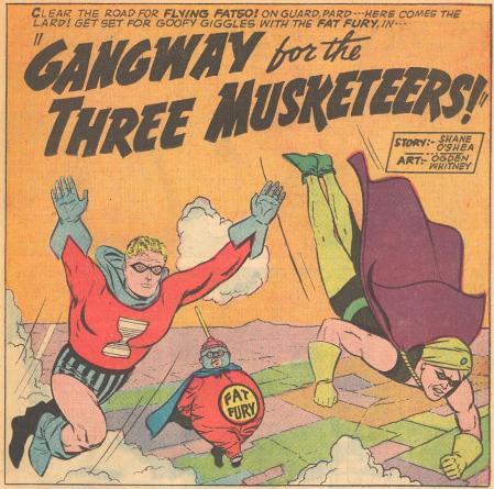 gangway 3 musketeers