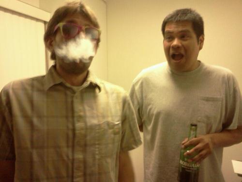 Abe and Gary