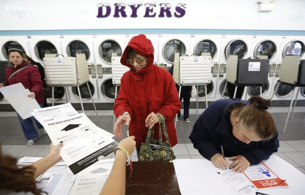 dryer polling place