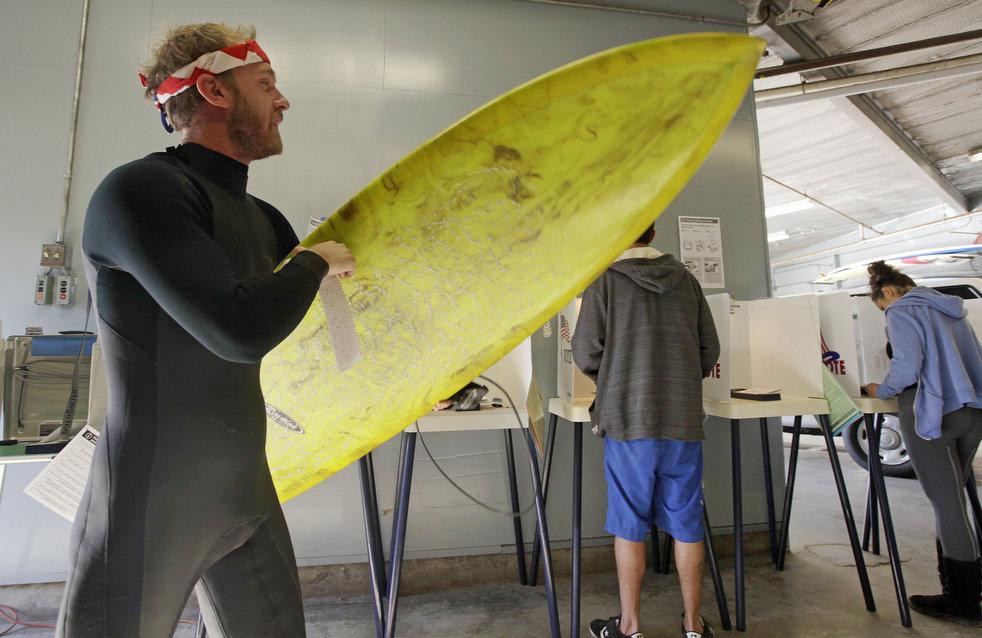 surfer voter
