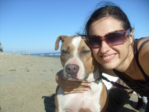 Me and Maggie in Malibu