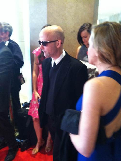 Moby on the red carpet