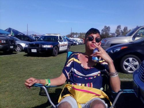 Trent at Coachella 2013